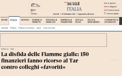 La disfida delle Fiamme gialle: 150 finanzieri fanno ricorso al Tar contro colleghi «favoriti»
